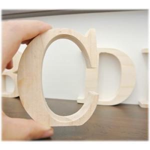 アウトレット価格木製アルファベットオブジェ (A〜R)高さ10cm(アルファベット オブジェ アルファベット 木製 アルファベット ブロック)|wanon333|02