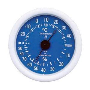 温湿度計 TT-515 ブルー|wansaca