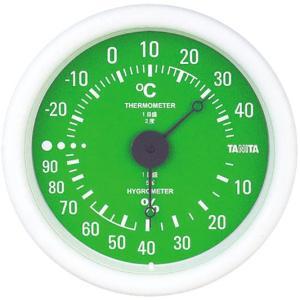 温湿度計 TT-515 グリーン|wansaca