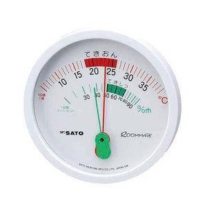 ルームメイト温湿度計|wansaca