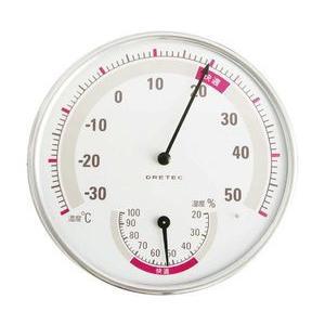 温湿度計 O-310 ホワイト|wansaca
