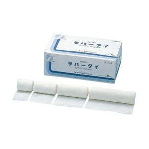 弾性包帯 ラバータイ 10巻入 10cm×4.5m(伸長)|wansaca