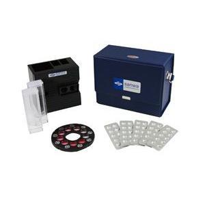 DPD法ダイヤル式遊離残留塩素測定器 錠剤タイプ|wansaca