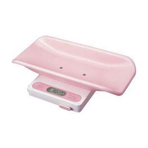 デジタルベビースケール しあわせ ピンク|wansaca