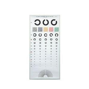 視力検査表 国際標準式 5m用 標準|wansaca