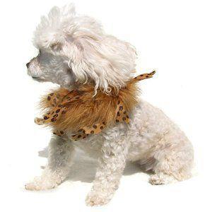 犬のファーネックレス【Dot fur necklace】ペット用アクセサリー/犬のネックレス/犬グッズ/犬用品|wanwan3dogs