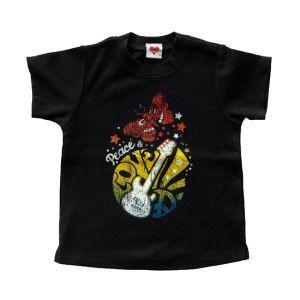 ロックな子供服のTシャツ【Peace & Love】別売おそろいの愛犬用パーカー有/キッズ服/K9DUDS/ギフト/プレゼント wanwan3dogs