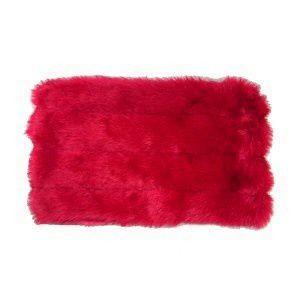 犬のブランケット【Faux Mink Carrier Blanket Red】ペット用ブランケット/犬用品/犬グッズ/ペット用品|wanwan3dogs