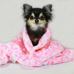 犬のブランケット【Pink Cheetah】チーター柄/ペット用ブランケット/クッション/マット/ミンク/ベルベット|wanwan3dogs