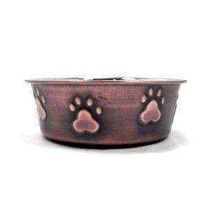 犬の食器【Bermuda Paws ボウル】ステンレス ボウル/小型犬|wanwan3dogs