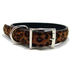 中型犬対応♪犬の首輪【Leopard Fur】かっこいいヒョウ柄ペット首輪/お散歩犬グッズ wanwan3dogs