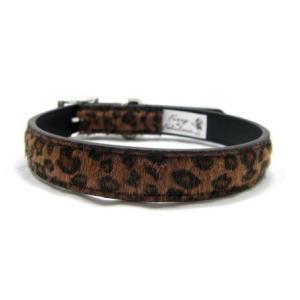 中型犬対応♪犬の首輪【Leopard Fur】かっこいいヒョウ柄ペット首輪/お散歩犬グッズ|wanwan3dogs|02