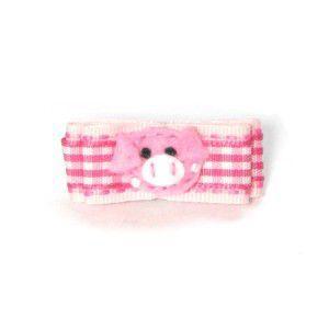 犬のヘアーアクセサリー【Little Piggie】ヘアピン/ヘアークリップ wanwan3dogs