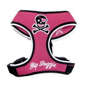 洗濯洗いもラクラクなメッシュタイプ♪犬のハーネス【Mesh skull pink 】ペットのハーネス/胴輪/ヒップドギー/お散歩犬用品|wanwan3dogs