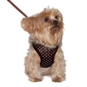 犬のハーネスとリードのセット【Easy Go Dotty】ドット/胴輪|wanwan3dogs