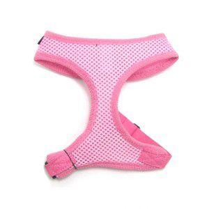 おしゃれなお散歩応援♪特別価格商品【フリーダム メッシュハーネス ピンク】 wanwan3dogs