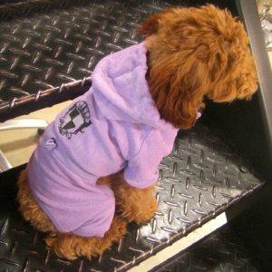 犬洋服_犬のジャンプスーツ【Terry cloth】 wanwan3dogs