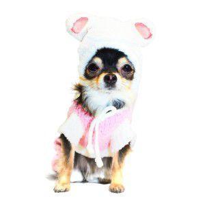 犬のカバーオール【Super Soft バニースーツ】犬のパジャマ/ペット用パジャマ/犬のつなぎ/バニーちゃん/犬服/犬の洋服/ペット服 wanwan3dogs