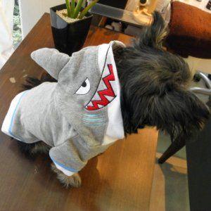 犬のコスチューム【シャーク】 ペット用コスチューム/ハロウィン仮装/犬服/犬の洋服/|wanwan3dogs