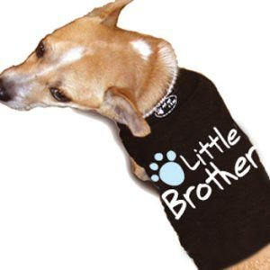 再入荷無し★スペシャル価格★ペアで着れる犬のタンクトップ【little brother dog タンク】おそろいで着れるオーナー様用タンクトップ有/犬服/犬の洋服|wanwan3dogs