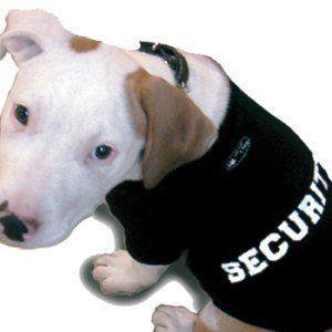 再入荷無し★スペシャル価格★ペアで着れる犬のタンクトップ【security dog タンク】おそろいで着れるオーナー様用タンクトップ有/犬服/犬の洋服|wanwan3dogs