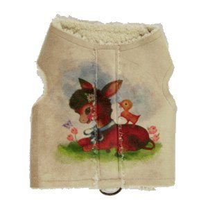 犬のベスト【ポニーエクスプレス_ウォーキングベスト_Baby Burro】お手軽防寒に便利なウエスタンベスト/犬服/犬の洋服|wanwan3dogs