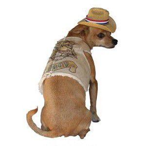 犬のベスト【ポニーエクスプレス_ウォーキングベスト_Courage】お手軽防寒に便利なウエスタンベスト/犬服/犬の洋服|wanwan3dogs