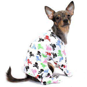 犬のパジャマ【Multi color skeleton】犬用パジャマ/カバーオール/ペットのパジャマ/犬服/犬の洋服 wanwan3dogs