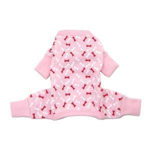 犬のパジャマ【Pink Bone】犬用パジャマ wanwan3dogs