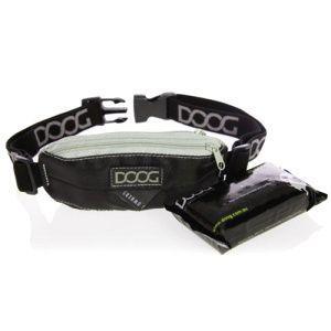 ウォーキング_ヒップバッグ【DOOG Mini Black】犬 アウトドア用品/ウエストバッグ/犬 お散歩グッズ/うんち袋セット|wanwan3dogs