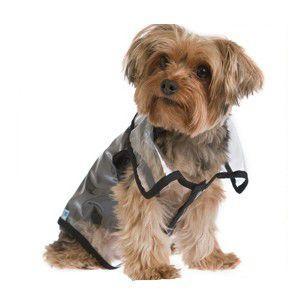 犬のレインコート【TRANSPARENT】クリア/透明/犬 レインコート/雨具/レイングッズ|wanwan3dogs