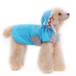 犬のレインコート【シャーク】 雨具|wanwan3dogs