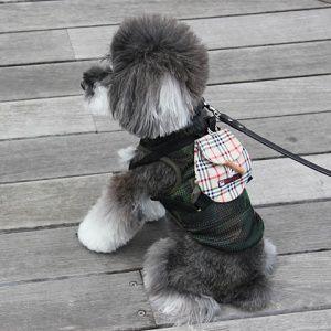 犬のリュック【お散歩リュック_Brown Plaid】チェック|wanwan3dogs