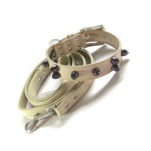 送料無料♪チャームプレゼント付♪犬の首輪とリードのセット【Hunter】|wanwan3dogs
