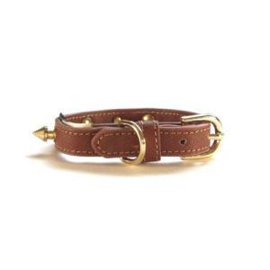 送料無料♪チャームプレゼント付♪犬の首輪とリードのセット【Camel Butch】XS-Sサイズ|wanwan3dogs|04