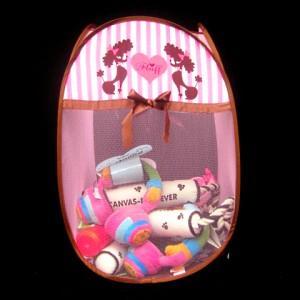 犬のおもちゃ箱【Fluff toy basket】 wanwan3dogs