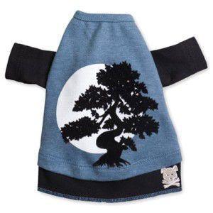 犬のTシャツ【Now and Zen】和柄/ペット用Tシャツ/犬服/犬の洋服/ペット服|wanwan3dogs
