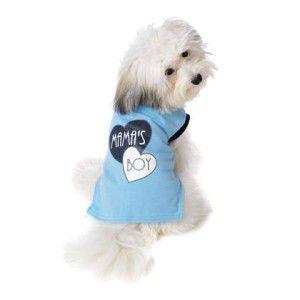 可愛いを体験♪特別価格商品犬のTシャツ【Mama's Boy】ペット用Tシャツ/犬服/犬の洋服/ペット服|wanwan3dogs