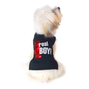 可愛いを体験♪特別価格商品犬のTシャツ【Real Boy】ペット用Tシャツ/犬服/犬の洋服/ペット服|wanwan3dogs