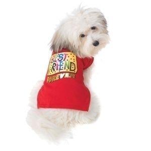 可愛いを体験♪特別価格商品犬のTシャツ【Best Friend】ペット用Tシャツ/犬服/犬の洋服/ペット服|wanwan3dogs