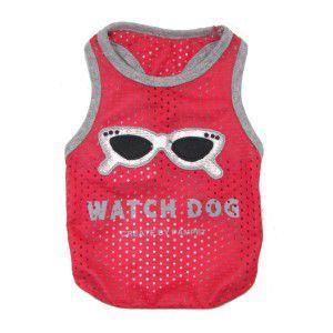 犬のジャージ【ウォッチドッグ】メッシュ素材/サングラス/犬服/犬の洋服/ペット服 /夏|wanwan3dogs