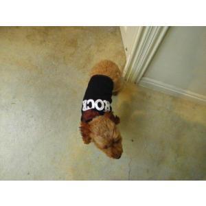 犬のTシャツ【I Luv Rock】スタッズ/犬服/犬の洋服|wanwan3dogs|04
