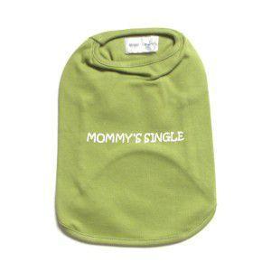 犬のタンクトップ【Mommy's Single】犬服|wanwan3dogs