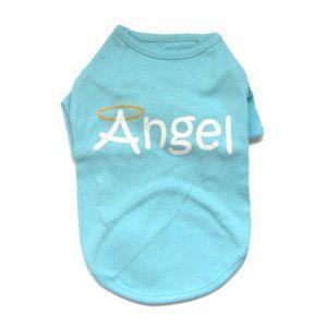 犬のTシャツ【Angel】犬服/犬の洋服|wanwan3dogs