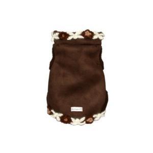 犬のコート【Navajo Sheling suede vest】犬服/犬の洋服|wanwan3dogs|02