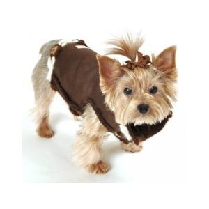 犬のコート【Navajo Sheling suede vest】犬服/犬の洋服|wanwan3dogs|05