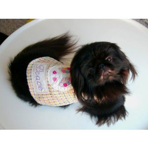 犬のコート【Peace ファーコート】犬用コート/ペットのコート/犬服/犬の洋服|wanwan3dogs|02