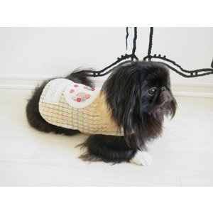 犬のコート【Peace ファーコート】犬用コート/ペットのコート/犬服/犬の洋服|wanwan3dogs|04