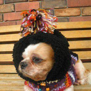 送料無料♪犬のセーター【ビッグフード_ネイティブセーター】手編みセーター/犬のニット/ペットセーター/犬服/犬の洋服|wanwan3dogs