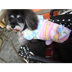 犬のジャケット【Jazzy Girl】犬用ジャケット/フリースジャケット/マジックテープ仕様/犬服/犬の洋服 wanwan3dogs 03